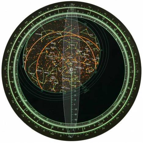 Bresser rotējoša zvaigžņu karte