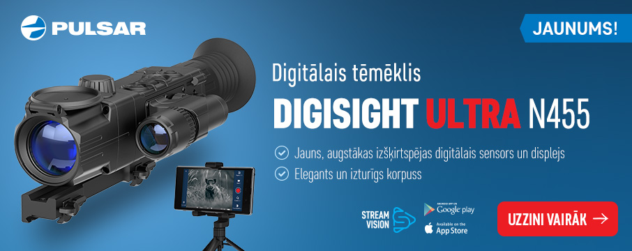 Pulsar Digisight Ultra N455 digitālais tēmēklis