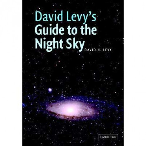 "Cambridge University Press David Levy's ""Guide to the Night Sky"" book"
