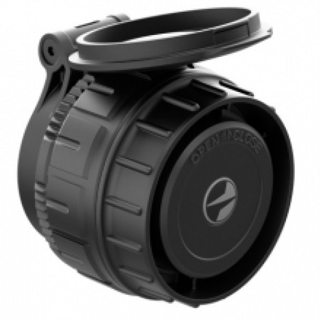 Pulsar XP F28 termokameras objektīvs