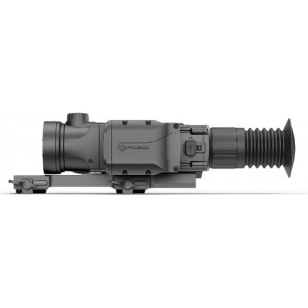Pulsar Trail LRF XQ50 thermal imaging sight with Weaver