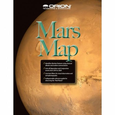Orion Star chart Marsa karte