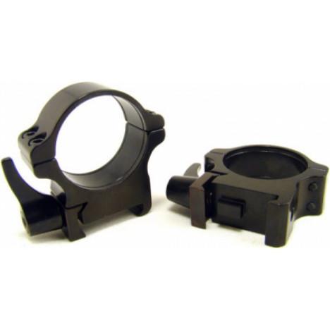 Rusan Weaver ātrā montējuma gredzeni 30mm, H10mm