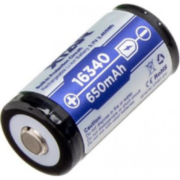 XTAR Protect 16340 (CR-123) akumulators