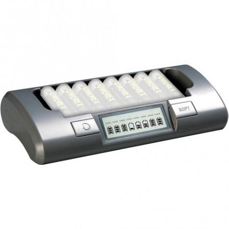 MAHA Powerex 8 bateriju lādētājs