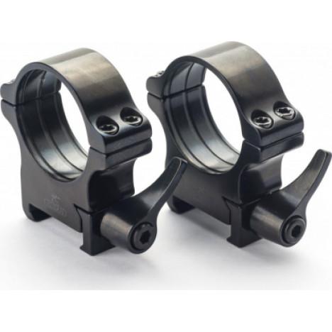 Rusan Weaver ātrā montējuma gredzeni 30mm, H20