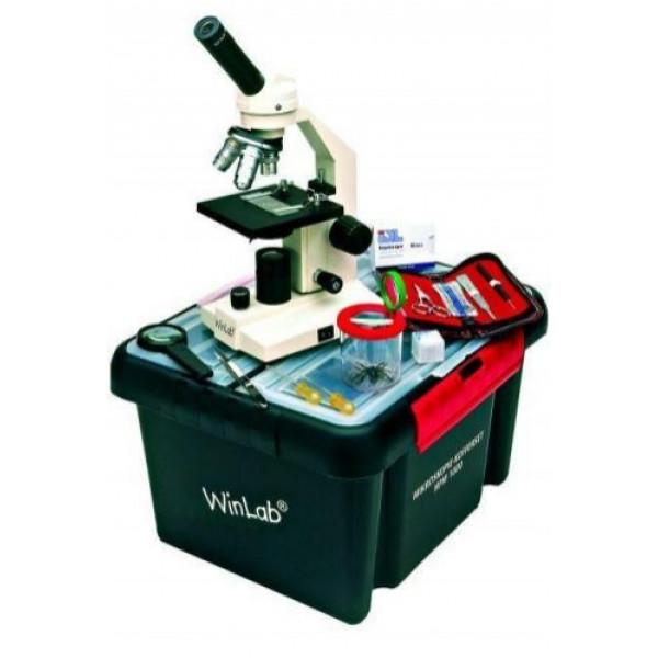Windaus HPM 1000 mikroskops ar koferi