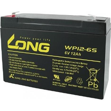 LONG 6V 12Ah Akumulators