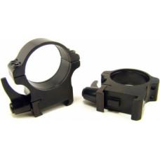 Rusan Weaver ātrā montējuma gredzeni 30mm, H12mm