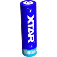 XTAR 18650 3.7V 3000mAh Li-ion akumulators