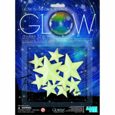 HCM Kinzel Glow 3D zvaigžņu spīdīgās formas