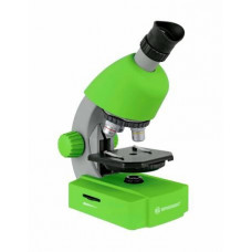 Bresser Junior 40x-640x microscope with smartphone adapter (green)