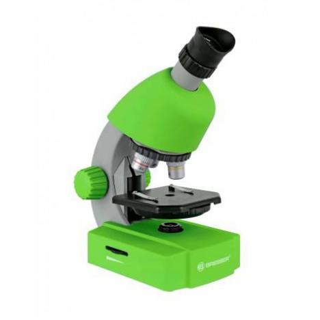 Bresser Junior 40x-640x mikroskops (zaļš)