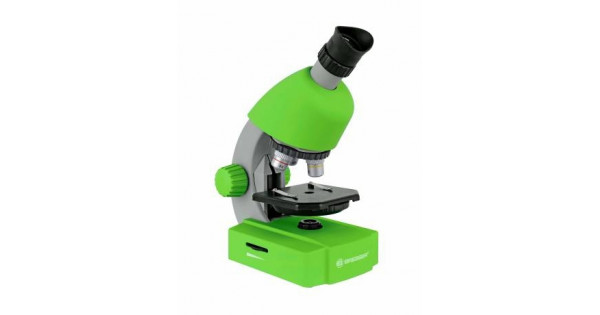 Bresser junior 40x 640x microscope green