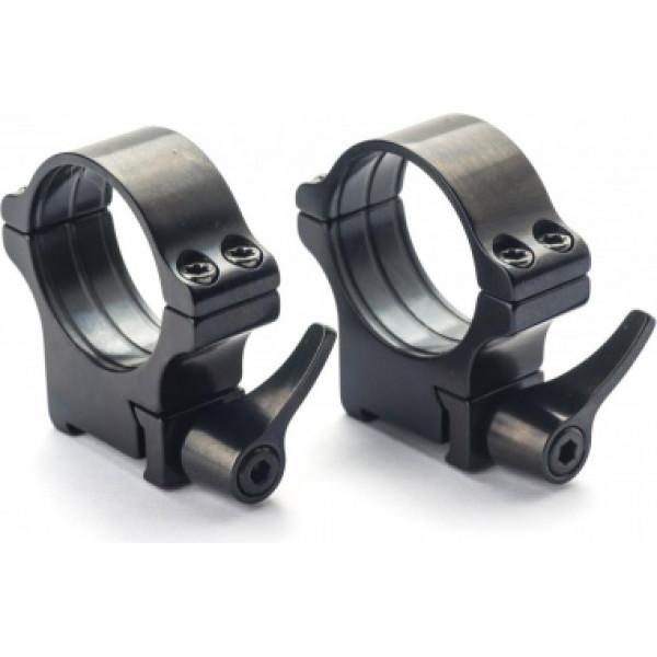 Rusan Tikka T3 ātrā montējuma gredzeni 30mm, H15