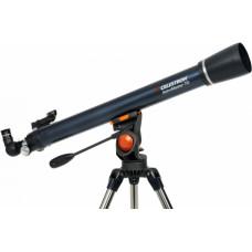 Celestron AstroMaster 70AZ R teleskops ar telefona adapteri un mēness filtru