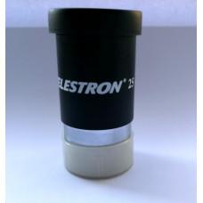 "Celestron 25mm (1.25"") okulārs"
