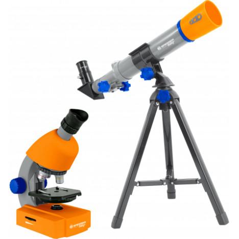 Bresser Junior mikroskopa un teleskopa komplekts bērniem