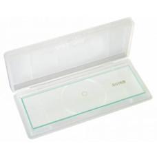 Bresser tukšs stikla slaids ar 1/100mm skalu